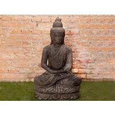 Estátua de Buda em Pedra Dhyana Mudra