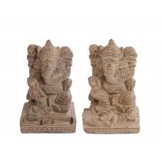 Incensário Ganesha Shanti em Pedra