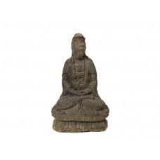 Escultura em Pedra Kuan Yin