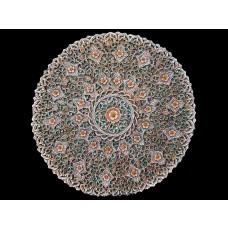 Mandala de Pedra Floral
