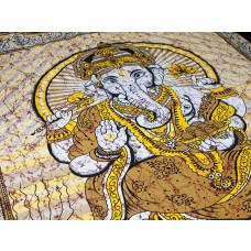 Manta Indiana com Estampa de Ganesha