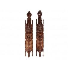 Casal de Ramayana Madeira Suar 100cm