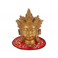 Cabeça de Tara em Bronze