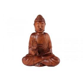 Estatua Buda Sentado Suar 20cm