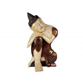 Escultura de Buda Meditando