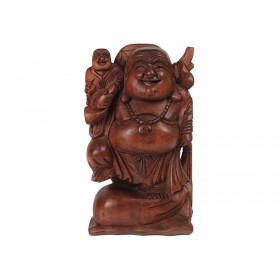 Happy Buda Suar Natural 40cm