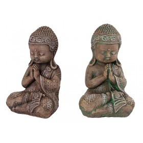 Buda Menino Rezando Sentado