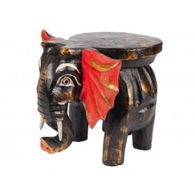 Banquinho Elefante Madeira