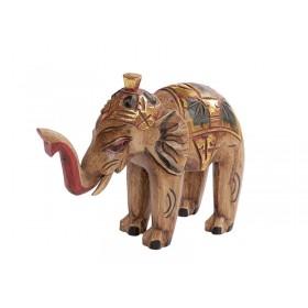 Elefante Indiano Craquelê 20cm