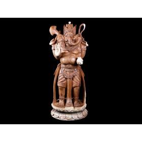 Escultura Ganesha em Pé Lótus