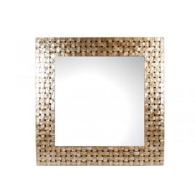 Espelho Madreperola Machetado Fiber Quadrado
