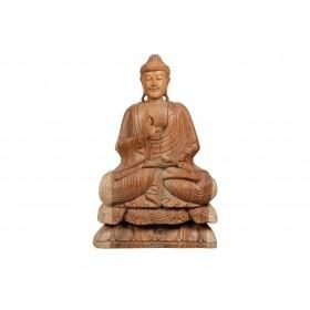 Estatua Buda Sentado Suar 80cm