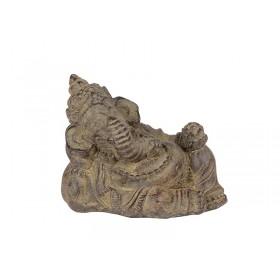 Ganesha Deitado em Pedra