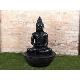 Fonte de Buda Sentado em Pedra