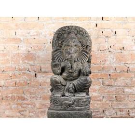 Escultura de Ganesha em Pedra