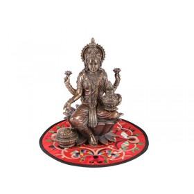 Escultura Lakshmi Deusa da Riqueza