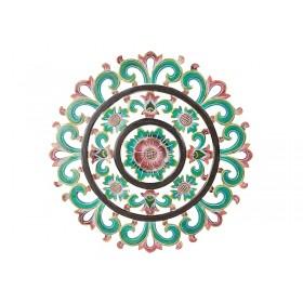 Mandala de Madeira Flower Color 60cm