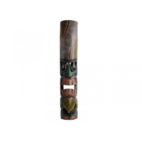 Máscara Hawaiana Tiki Aborígene 1mt