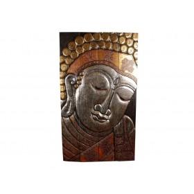 Painel Rosto do Buda Grande