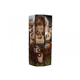 Painel Entalhado Ganesha Lipat