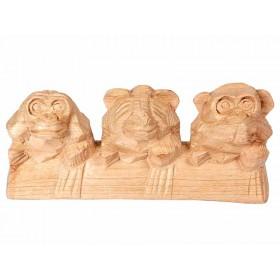 Trio de Macacos da Sabedoria