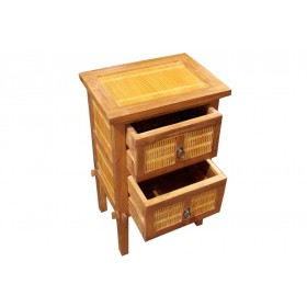 Armário teca com Bambú