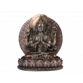 Estátua Kuan Yin Avalokiteshvara Compaixão