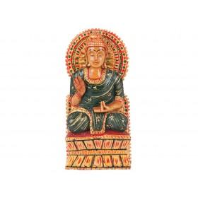 Buda Sentado da Índia 16cm