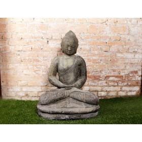 Buda de Pedra Sentado 85cm