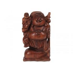 Happy Buda Suar Natural 40cm