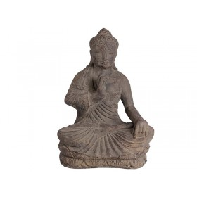 Buda de Pedra Sentado 50cm
