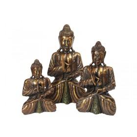 Estátuas Buda Tailandês Gold