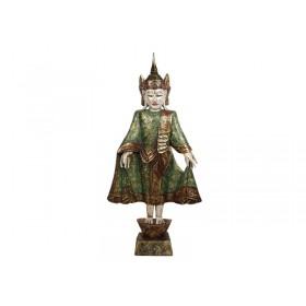 Buda Tailandês Gold Verde 100cm