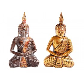 Buda Sentado Natural ou Dourado