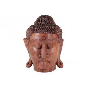 Estátua cabeça de Buda suar 40 cm.