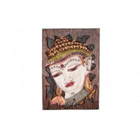 Quadro de Buda Entalhado