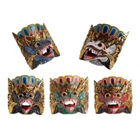 Máscara Garuda Balinesa