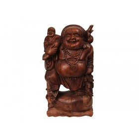 Happy Buda Suar Natural 80cm