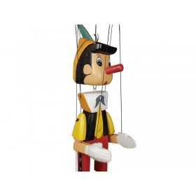 Pinóquio de Madeira Marionete Grande