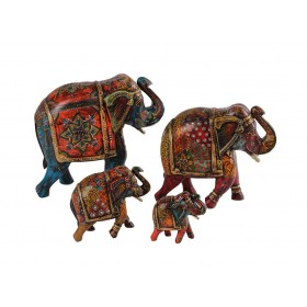 Elefante Indiano Colorido