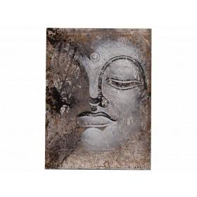 Quadro Busto Buda Off White