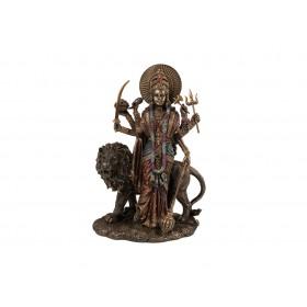 Deusa Durga com Leão em Pé