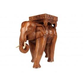 Elefante Tailândia em Madeira Teca
