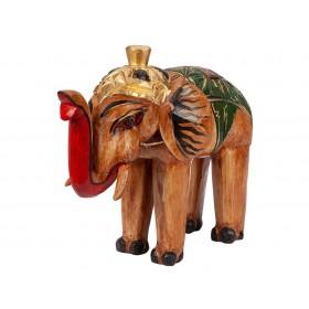 Elefante Indiano Madeira 40cm