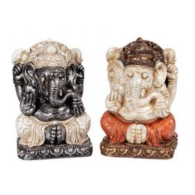 Escultura Ganesha Sentado 30cm