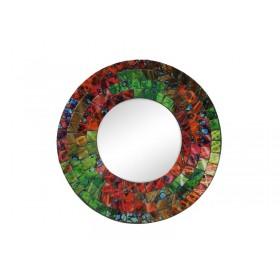 Espelho Mosaico Redondo 20cm