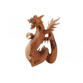 Estátua Dragão 40 cm