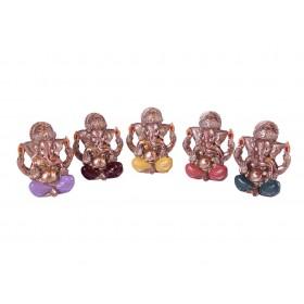 Ganesha Miniatura Colorido