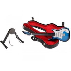 Guitarra Miniatura Stratocaster Azul