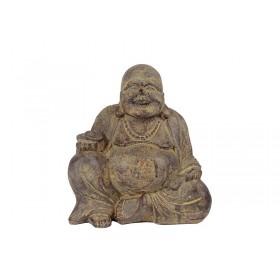 Happy Buda em Pedra 15cm
